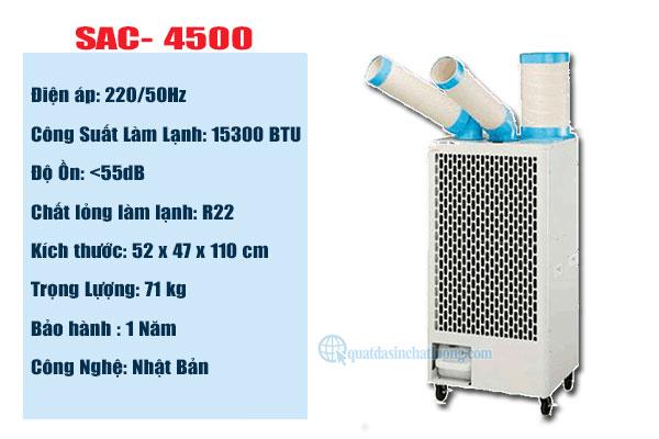 Cung cấp máy lạnh SAC- 4500 tại Bình Dương