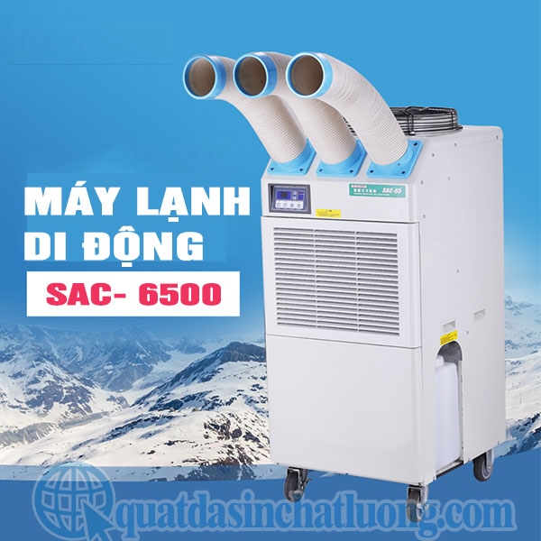 Máy lạnh di động nội địa Nhật SAC- 6500