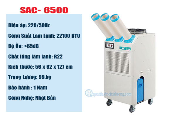 Cung cấp máy lạnh Nakatomi SAC- 6500 tại Bình Dương