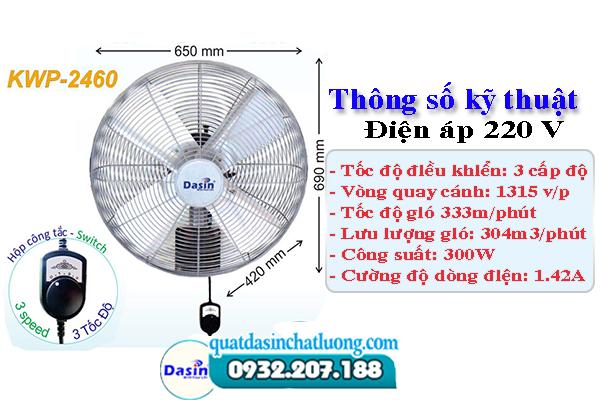 quạt công nghiệp KWP- 2460