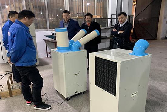 máy lạnh di động công nghiệp- Giải pháp chống nóng cho nhà kính